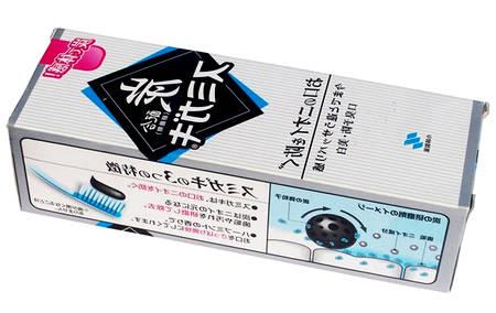 Японская отбеливающая зубная паста Kobayashi с углем