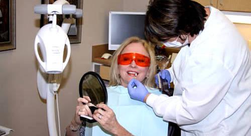 Отбеливание в кабинете стоматолога