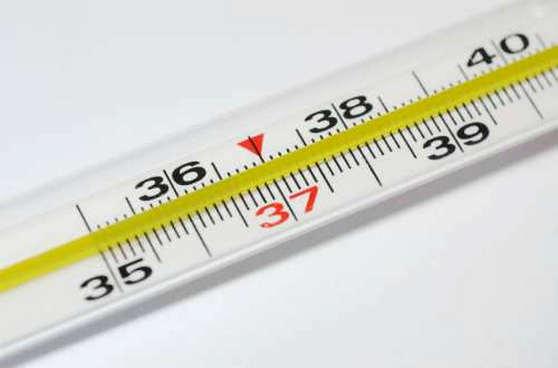 Повышение температуры при прорезывании зубов